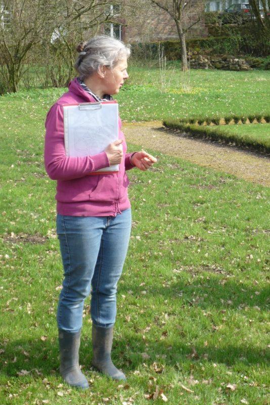 Heike Mathejczyk, Projektleiterin des Klostergartens