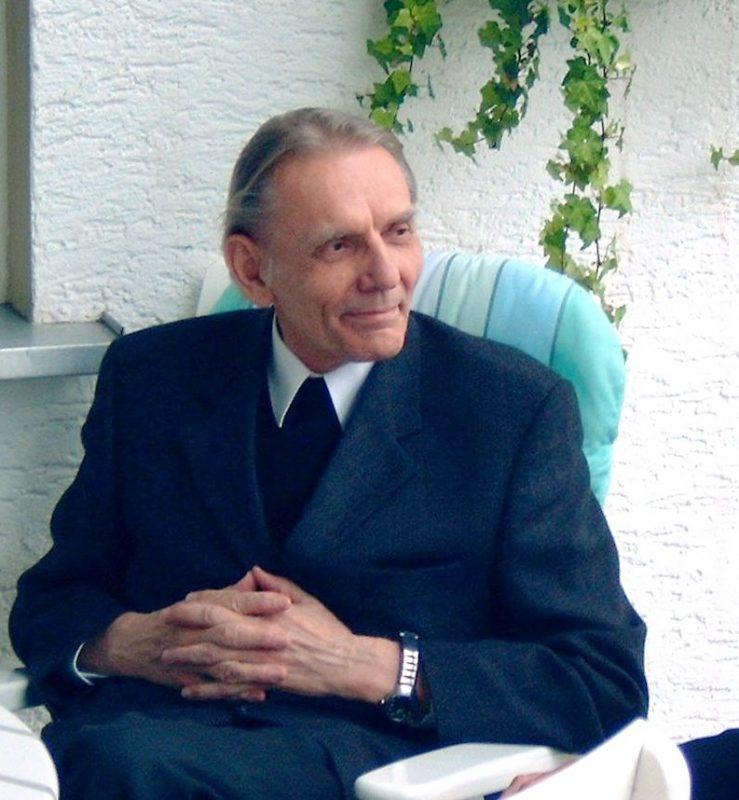 Prof. Kösters im Sommer 2003