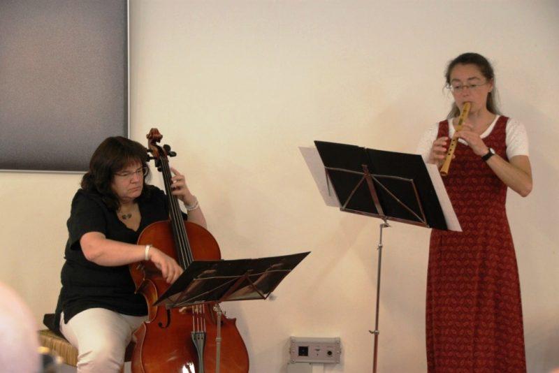 Regina Wenzel und Monika Kasper