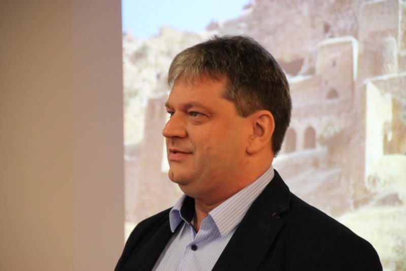 Tagungsleiter Damian Lazarek