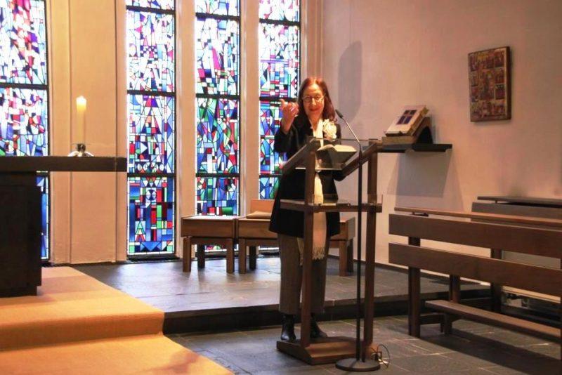 Wortgotttesdienst mit Bibelauslegung von Rabbinerin Prof. E. Goodman-Thau