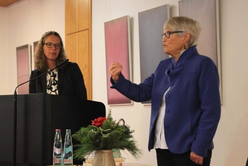 Schlussworte:  Frau Christel Neudeck und Dr. Kirsch