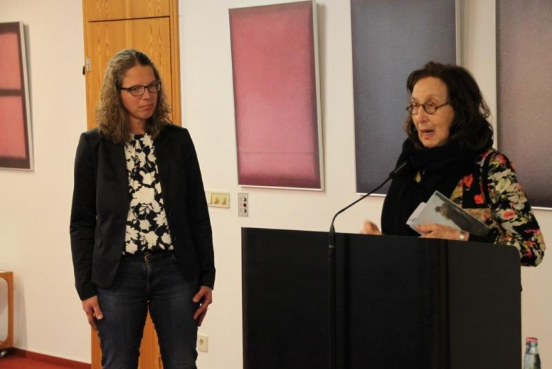 Schlussworte mit Frau Prof. Dr. Goodman-Thau und Dr. Anne Kirsch