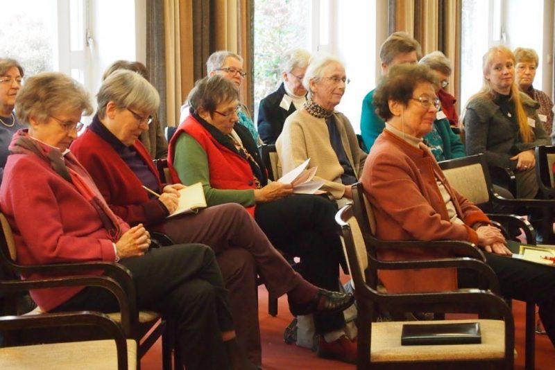 Blick in den Teilnehmerkreis