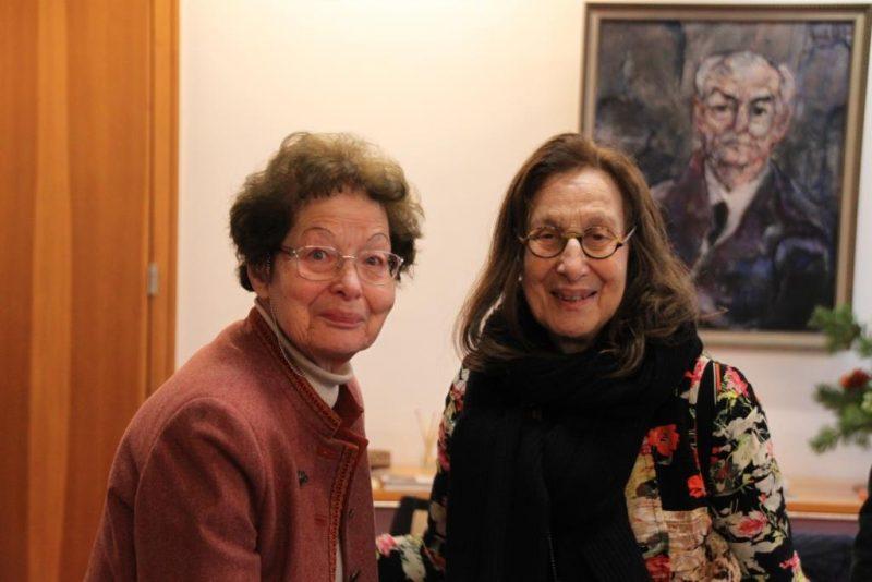 Frau Prof. Goodman-Thau und Frau Dr.Anna Ulrich