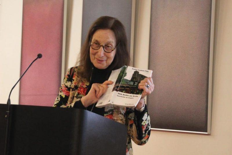 Frau Prof. Dr. Goodman-Thau stellt ihr neues Buch vor