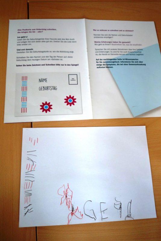 Geburtstagskarte schreiben - eigentlich ganz einfach!