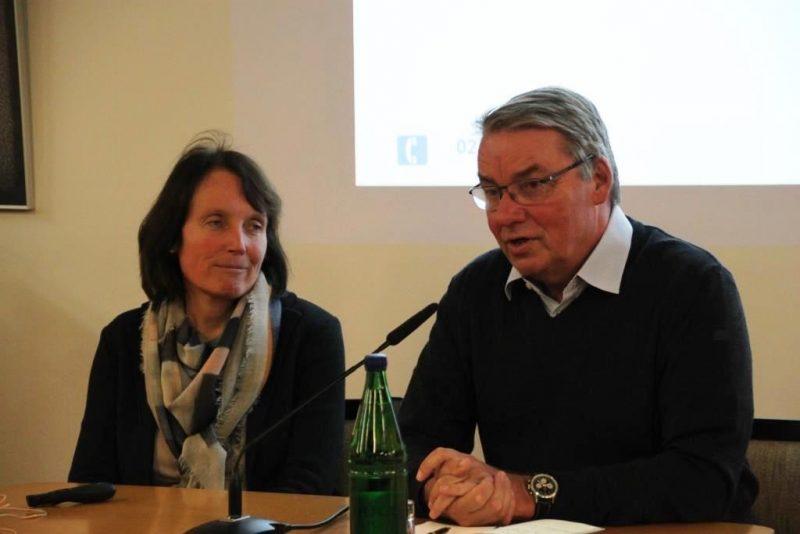 Gespräch Dr. Berger und Dr. Polenz