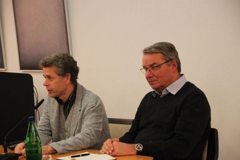 Gespräch Prof. Schäfer und Dr. Polenz