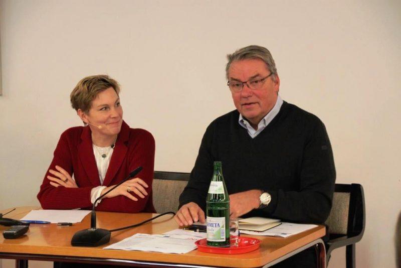 Gespräch Prof. Winkler und Dr. Polenz