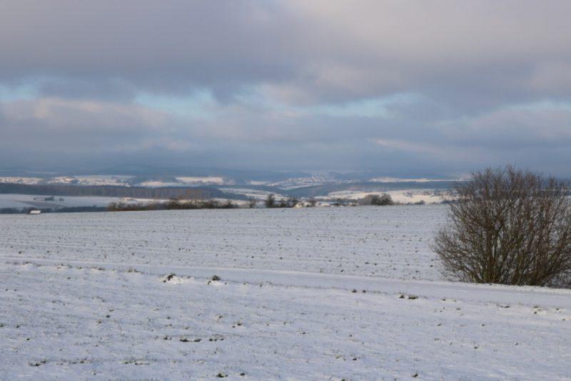 Herrliche Schneelandschaft