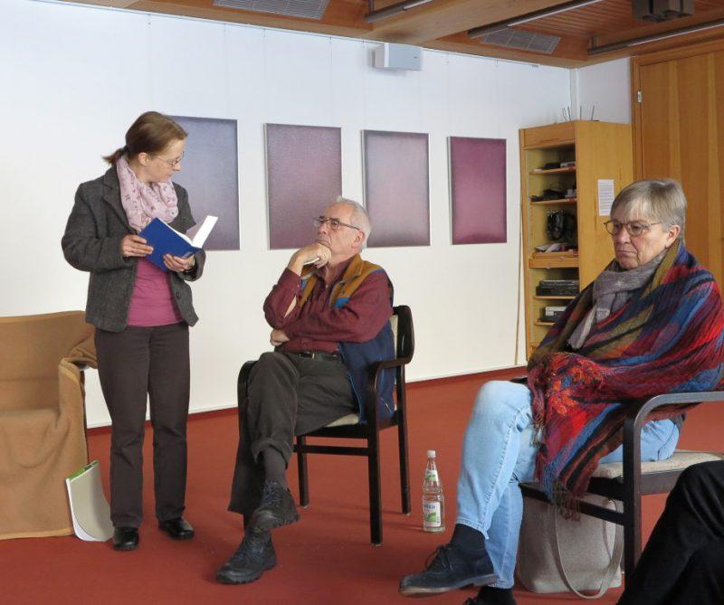 Bibliolog mit Dagmar Buchholz