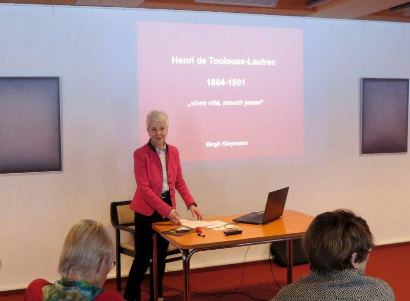Vortrag über Henri Toulouse - Lautrec