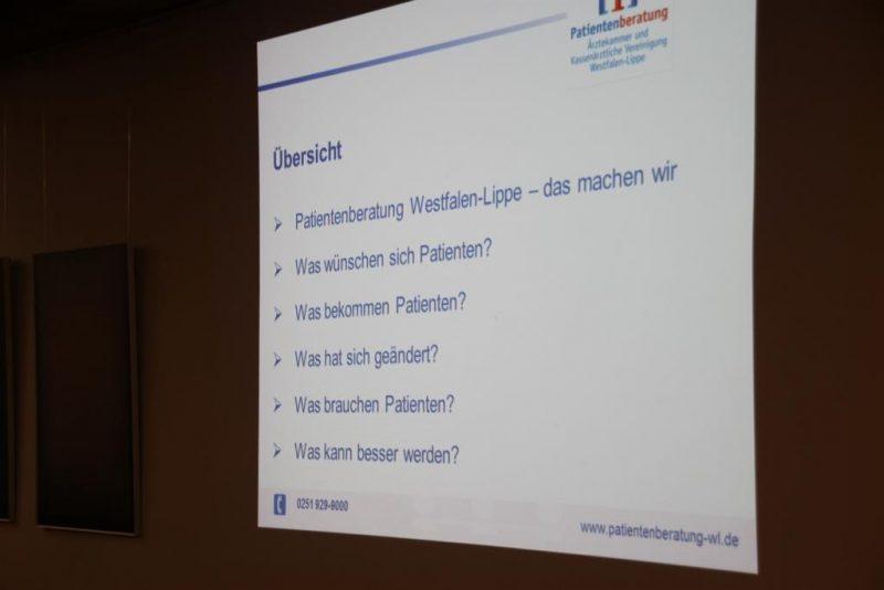 Vortrag von Dr. Berger