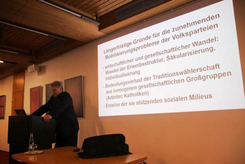 Vortrag von Prof. Niedermayer