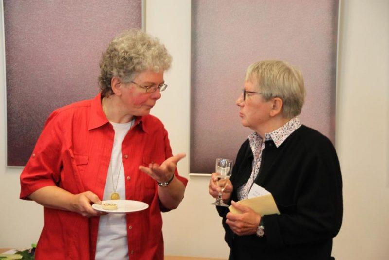 Dagmar Feldmann und Ruth Rissing-van Saan