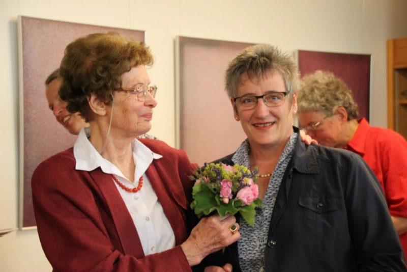 Frau Anna und Friederike Plümpe