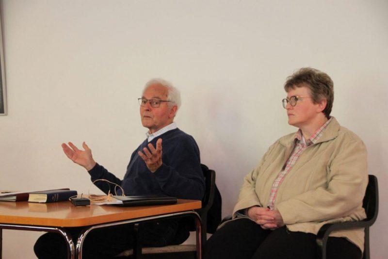 Gesprächsrunde mit Prof. Kessler