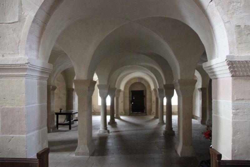 Die Nonnenempore von Lippoldsberg