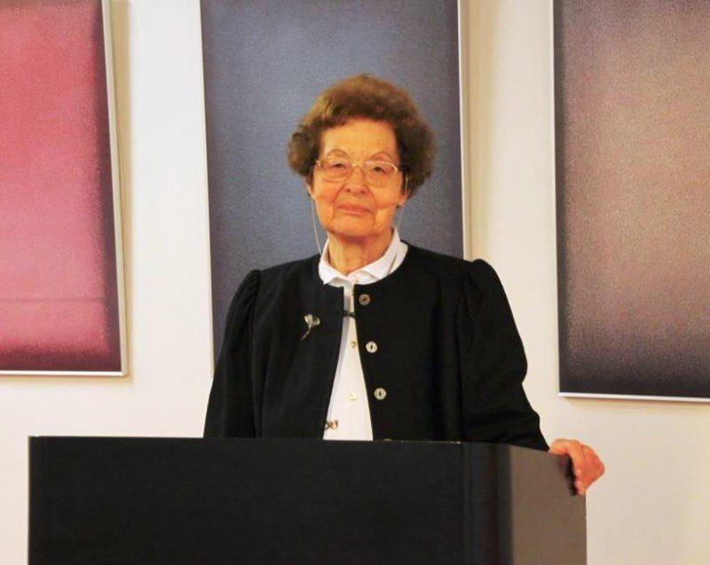 Tagungsleiterin Dr. Anna Ulrich