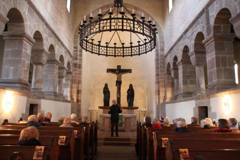 Blick in den Chor der Ostkirche