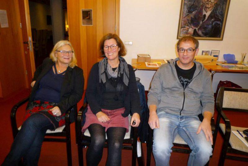 Die Fachleute Maria Oldenburg, Dr. Silja Burghaus, Torsten Mix