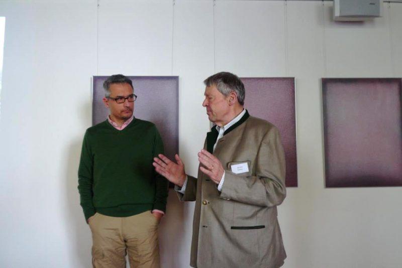 Forstdirektor Wolff und Gesprächsleiter Kathol