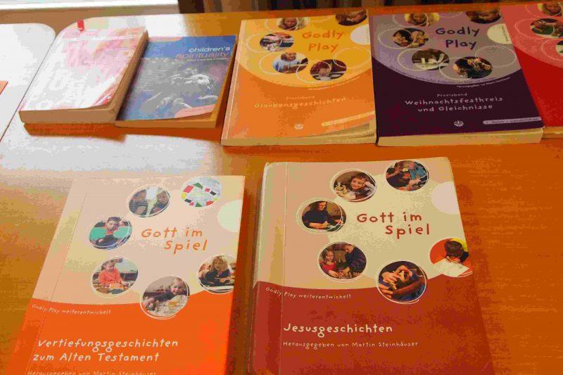 Bücher und Tipps zum-Godly Play-I-Gott im Spiel