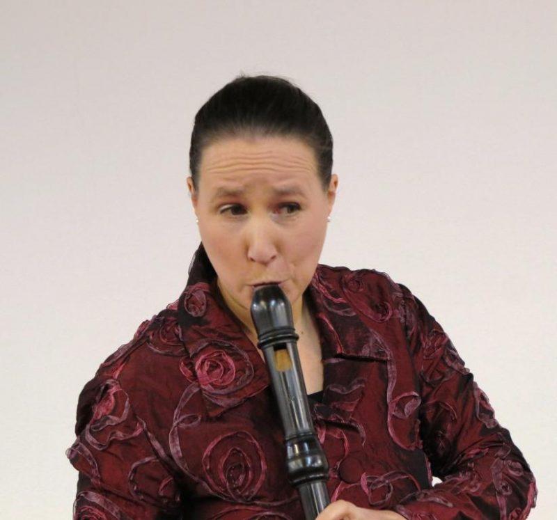 Blockflötistin Theresia Stahl