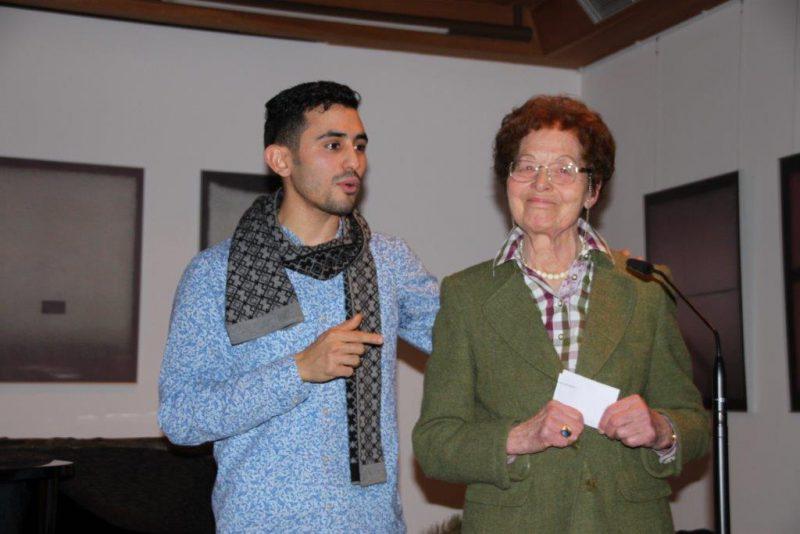 Aeham Ahmad mit Frau Anna