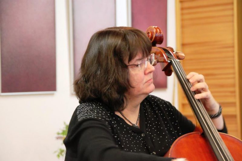 Cellistin Monika Kasper