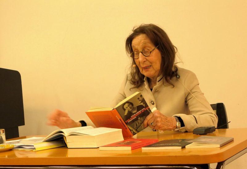 Frau Prof. Dr. E. Goodman-Thau liest aus ihrem Buch: Die Rabbinerin in Wien