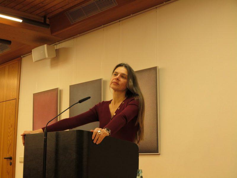 Dr. Christiane Florin bei ihrem Referat