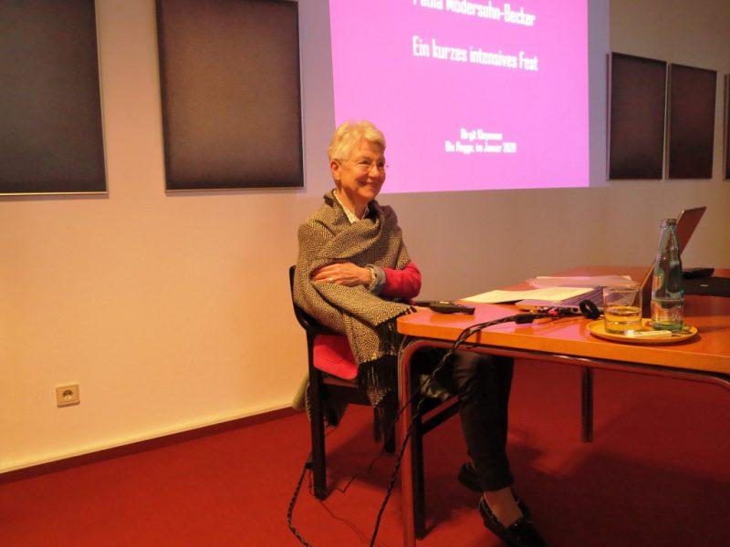 Birgit Kleymann stellt die Künstlerin Paula Modersohn-Becker vor