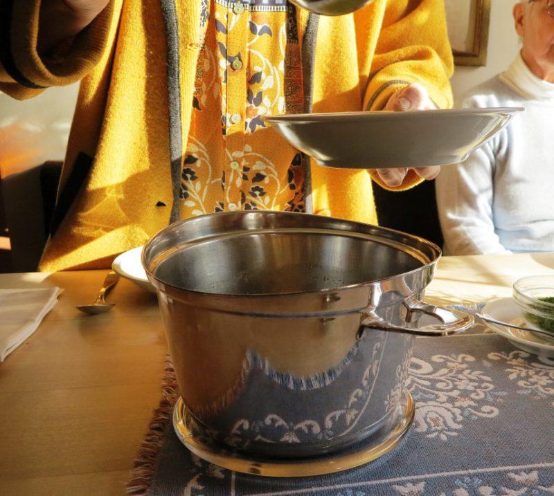 Die Suppe wird gerecht aufgeteilt