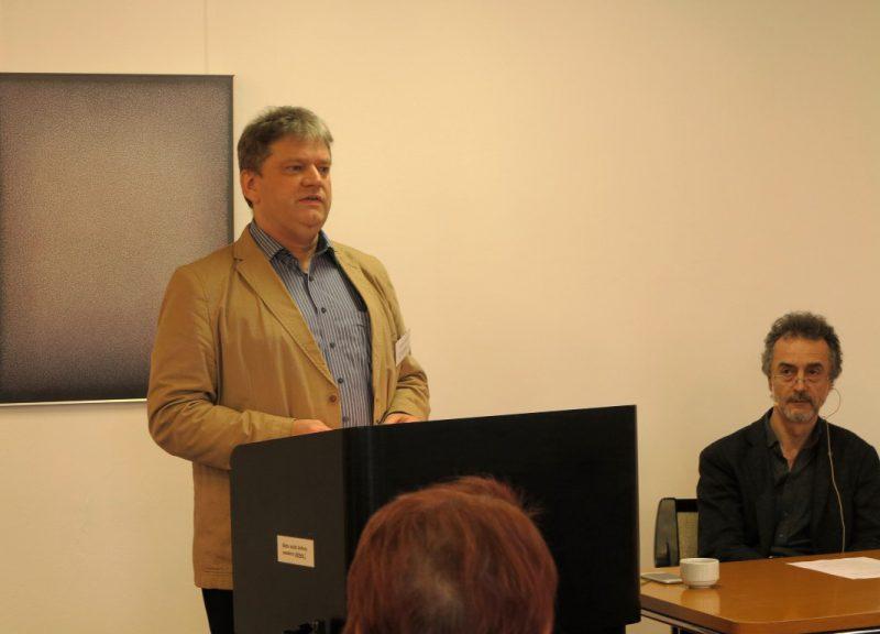 Begrüßung der Teilnehmer durch Dipl. theol. Damian Lazarek - Die Hegge