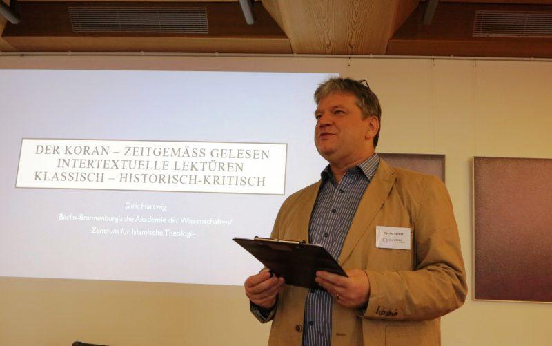 Vorstellung des nächsten Referenten durch D. Lazarek