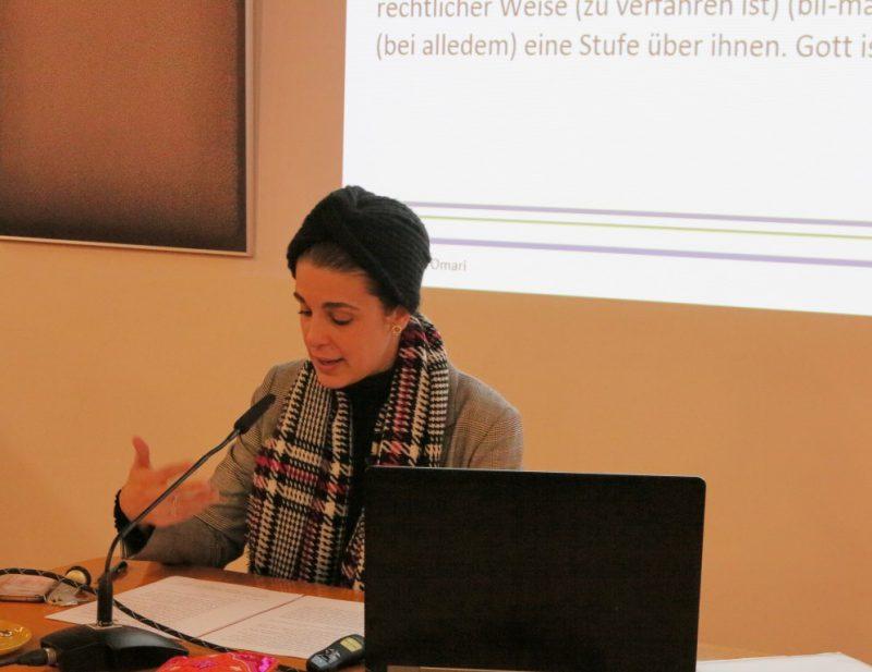 Dr. Dina El Omari liest den Koran aus feministischer Sicht