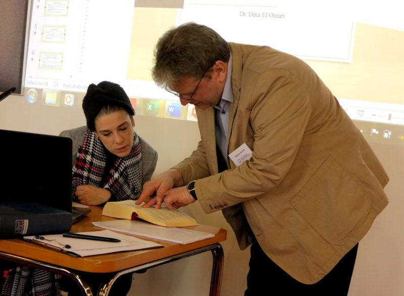 Dr. El Omari und D. Lazarek: Gemeinsames Suchen in den Heiligen Büchern