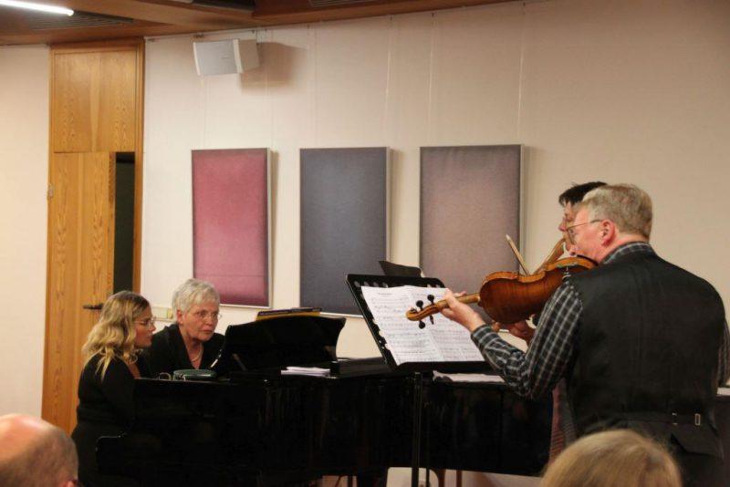 Musizieren im Quartett