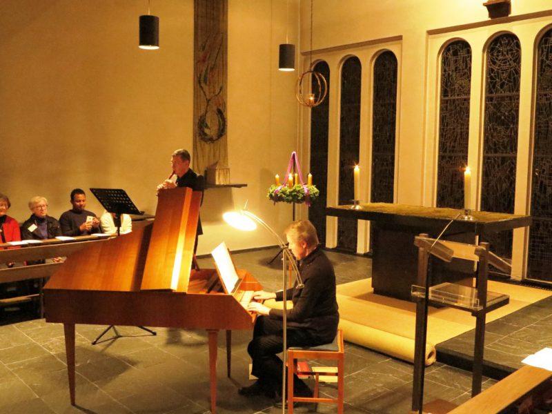 Stimmungsvolles Licht in der Hegge-Kapelle