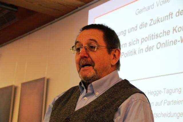 Prof. Gerhard Vowe