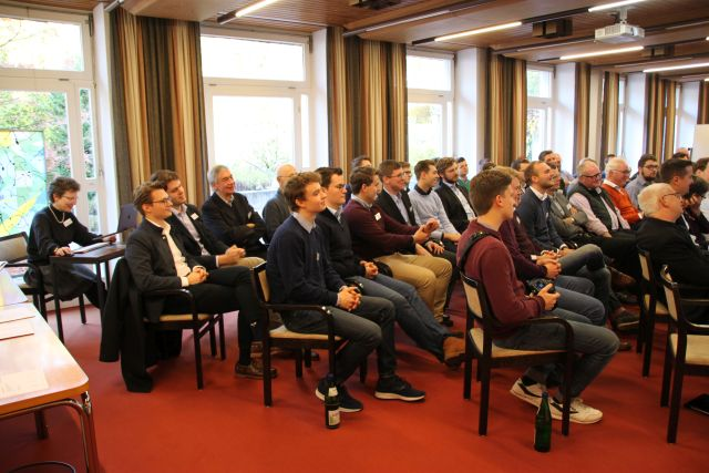 Blick in den Vortragsraum