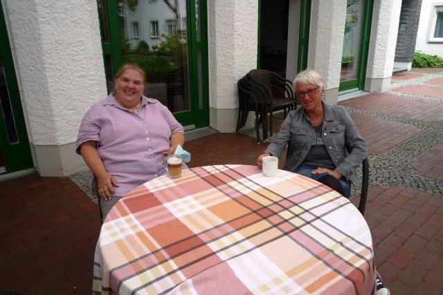 Die beiden Referentinnen Bettina Hagedorn und Kornelia Weber