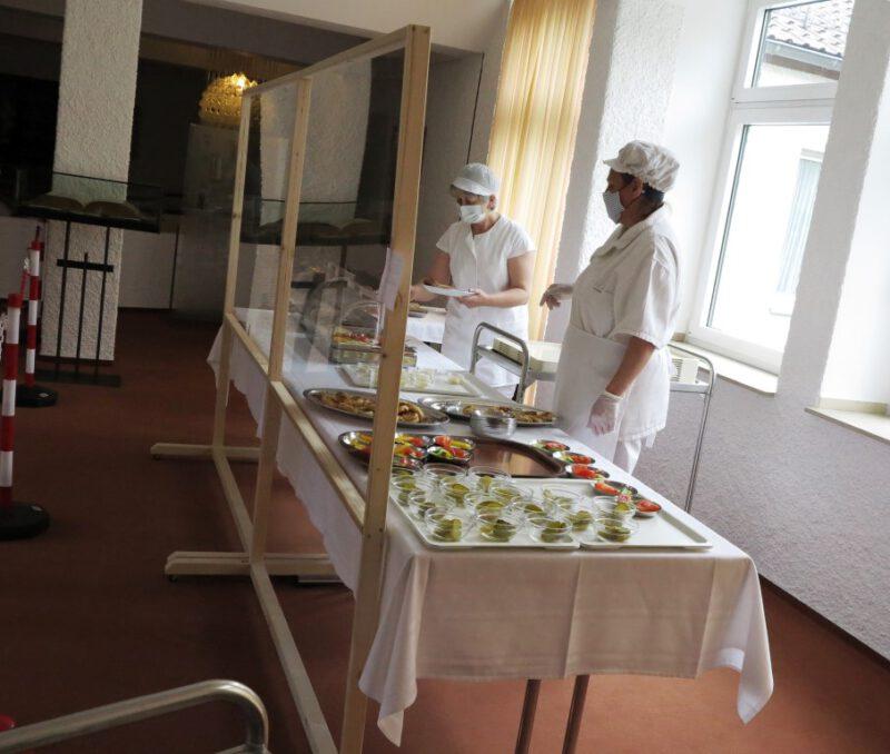 Engagiertes Küchenpersonal