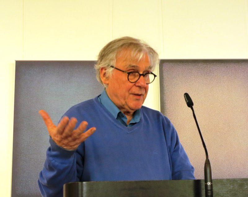 Dr. Arnd Friedrich bei seinem Referat