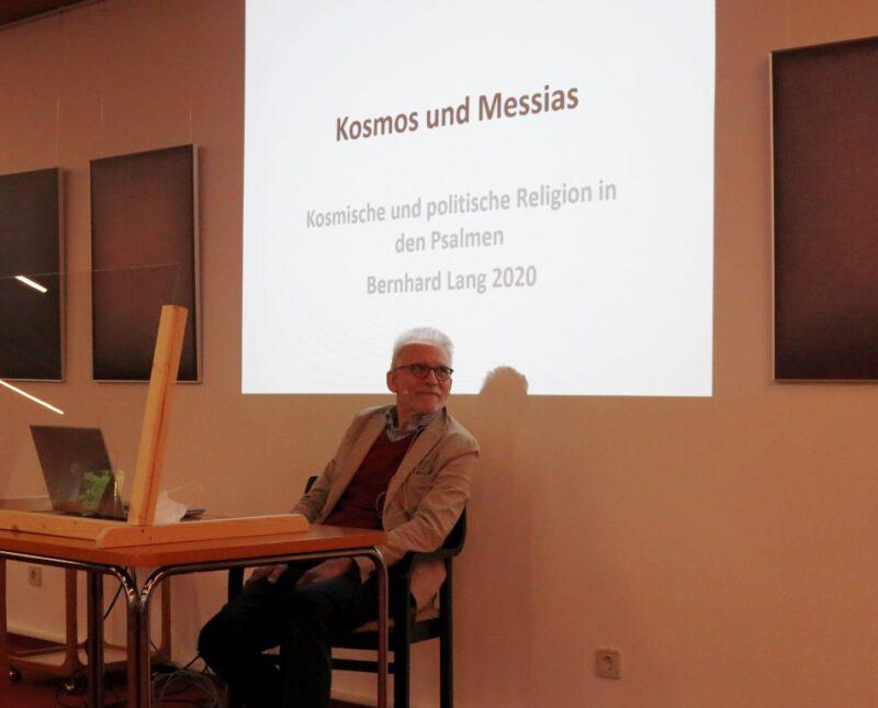 Prof. Dr. Bernhard Lang referiert