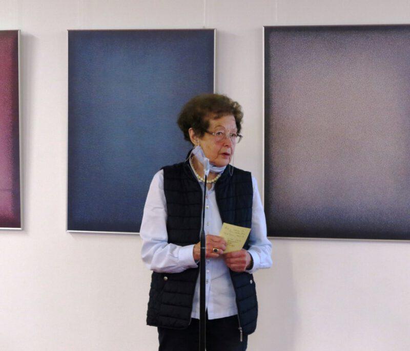 Begrüßung der Teilnehmer und Einführung in die Thematik durch Dr. Anna Ulrich, Die Hegge