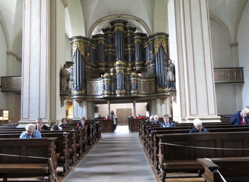 Kleines Orgelkonzert von Hans-Hermann Jansen an der Johann-Patroclus-Möller Orgel