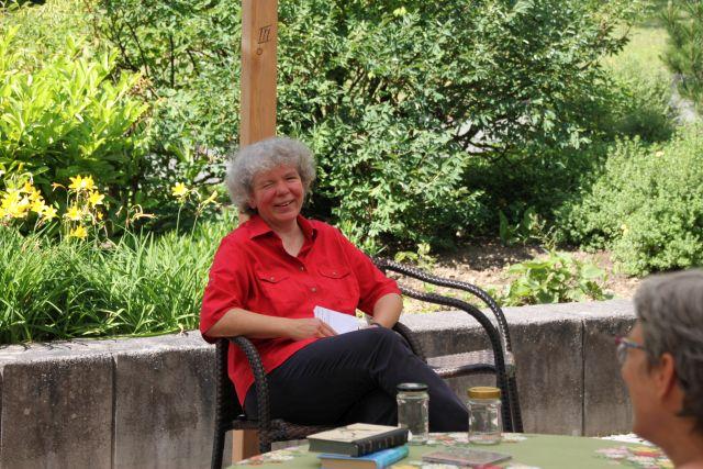 Landwirtschaftlicher Unterricht von Frau Feldmann